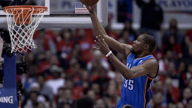 Oklahoma in NBA-Playoffs gegen Clippers in Führung (Foto)