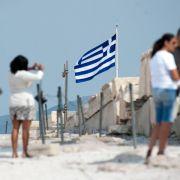 Deutlich mehr Reisende fliegen nach Griechenland (Foto)