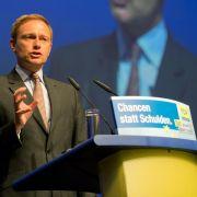 Lindner greift Eurokritiker AfD an: «Republikaner reloaded» (Foto)