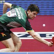 Tischtennis-Ass Ovtcharov per Anhalter zum Turnier (Foto)