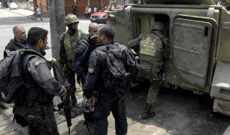 Militäreinsatz zur Kontrolle von Brasiliens Landgrenze (Foto)