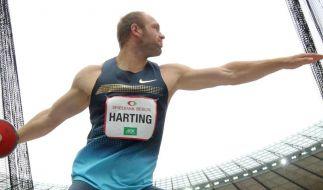 67,46 Meter: Diskus-Ass Harting siegt in Wiesbaden (Foto)