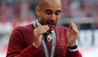 Bierdusche für Guardiola - Bayern suchen Final-Form (Foto)