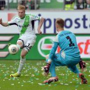 Wolfsburg nach Offensiv-Spektakel in EL-Gruppenphase (Foto)