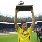 Lewandowski erstmals Bundesliga-Torschützenkönig (Foto)