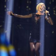 Sanna Nielsen sang beim ESC 2014 für Schweden und sah dabei bezaubernd aus.