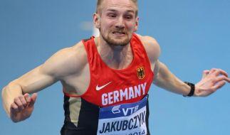 Jakubczyk kratzt am deutschen 100-Meter-Rekord (Foto)