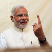 Indien: «Größte Wahl der Welt» geht zu Ende (Foto)