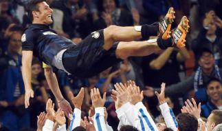 Inters Zanetti: Ende einer «wunderschönen Karriere» (Foto)