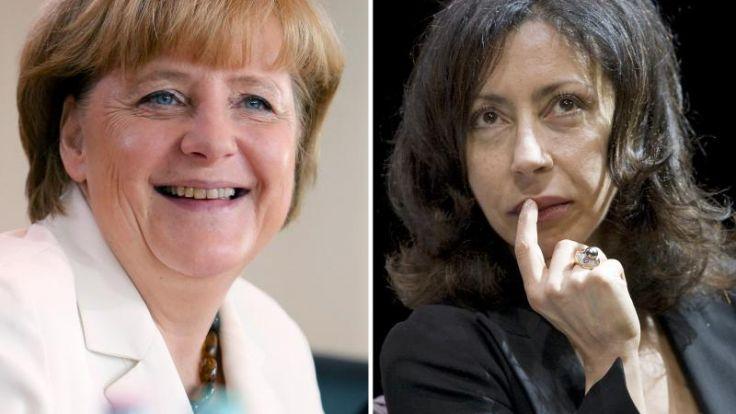 Yasmina Reza: Angela Merkel ist sehr verführerisch (Foto)