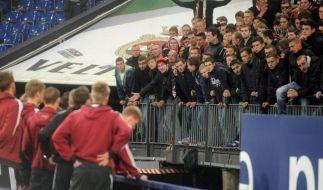 Nürnberger Fans prügeln sich mit Frankfurtern (Foto)