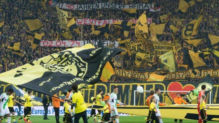 Bundesliga: Zweitbester Zuschauerschnitt der Geschichte (Foto)