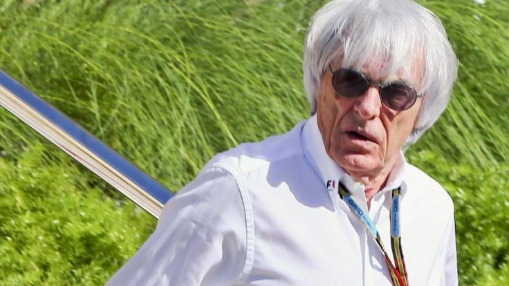 Ecclestone: Gruppenbild mit Mercedes-Boss (Foto)
