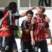 Ingolstadt mit 2:0-Heimsieg gegen Cottbus (Foto)