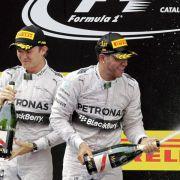 Wenig Worte: Die Freundschaft von Hamilton und Rosberg (Foto)