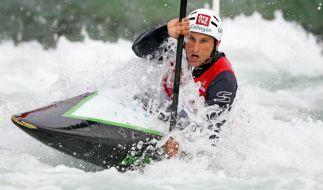 Slalom-Kanute Grimm setzt sich bei Quali durch (Foto)