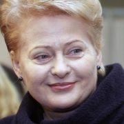 Litauen wählt Staatsoberhaupt - Amtsinhaberin Grybauskaite Favoritin (Foto)