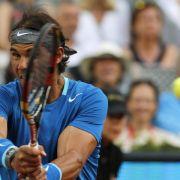 Nadal siegt in Madrid - Nishikori gibt auf (Foto)