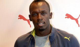Olympiasieger Bolt startet in Zürich (Foto)