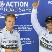 Duell Hamilton vs. Rosberg wird noch intensiver (Foto)