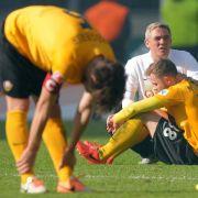 Ost-Fußball am Boden: Dresden als Zeichen des Absturzes (Foto)