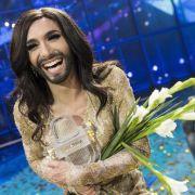 Deutsche «ESC»-Jury wollte Conchitas Sieg abbiegen (Foto)