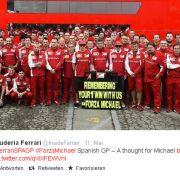 Wie sich Schumi-Fans an Regen-Rennen im Ferrari erinnern (Foto)