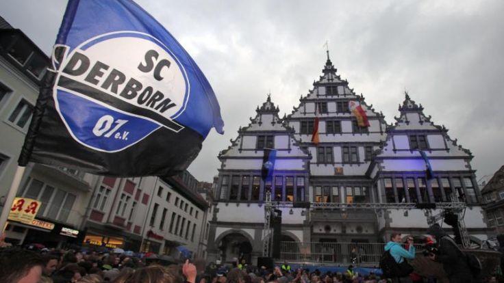 Paderborn bejubelt historischen Aufstieg (Foto)