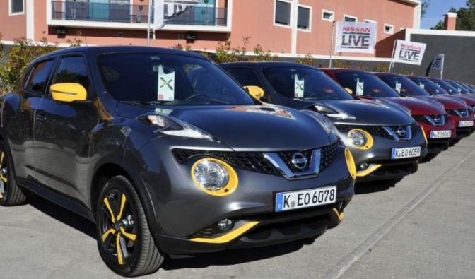 Die besten Bilder zu Erste Fahrt im neuen Nissan Juke - Im Detail verfeinert: Nissan (Foto)