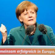 Merkel trifft Spitzen von Weltfinanz-Organisationen (Foto)