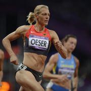 Schwangere Siebenkämpferin Oeser: Olympia bleibt Ziel (Foto)