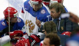 Russland-Coach Znarok verpasste NHL-Karriere (Foto)