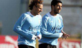 Suàrez führt Uruguays WM-Kader an (Foto)
