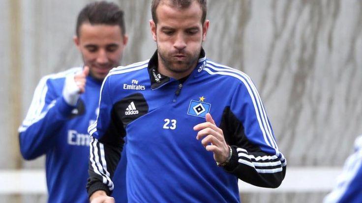 Van der Vaart warnt vor HSV-Gegner Fürth (Foto)