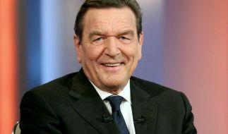Die Feier zu Gerhards Schröders 70. Geburtstag wurde durch eine Bombendrohung gestört. (Foto)