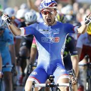 Franzose Bouhanni gewinnt 4. Giro-Etappe (Foto)