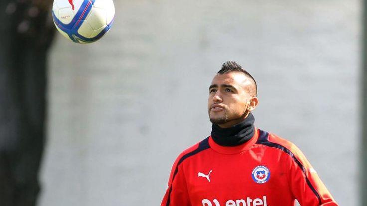Vidal in Chiles vorläufigem WM-Aufgebot (Foto)