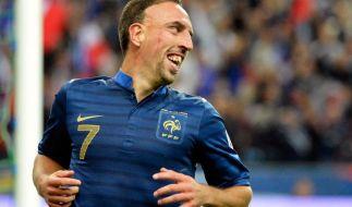 Bleus mit Ribéry und ohne Nasri in WM-Vorbereitung (Foto)
