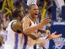 Thunder gewinnen NBA-Thriller - Klatsche für Pacers (Foto)
