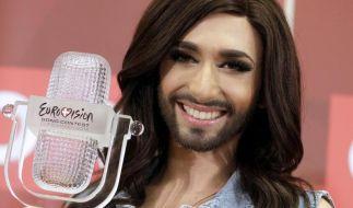 Der Bart von Conchita Wurst macht einen Großteil ihres Erfolges aus. (Foto)