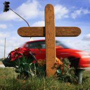 Durch Geschwindigkeitstafeln lassen sich Verkehrsunfälle vermeiden.