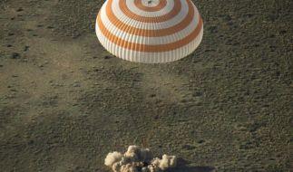 Drei ISS-Raumfahrer auf die Erde zurückgekehrt (Foto)
