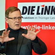 Erster linker Ministerpräsident in Thüringen möglich (Foto)