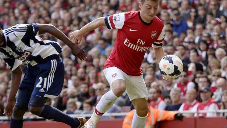 Özil vor FA-Cup-Finale: «Wollen das Ding auch holen» (Foto)