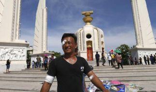 Thailändischer Armeechef droht mit Einschreiten (Foto)