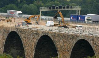 Bund steckt mehr Geld in Sanierung maroder Brücken (Foto)