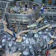 Kernfusionsexperiment «Wendelstein 7-X» vor dem Start (Foto)