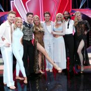 Die vier verbleibenden Tanzpaare schwangen in der siebten Folge von «Let's Dance» 2014 auf RTL zu ihren Lieblingsliedern das Tanzbein.
