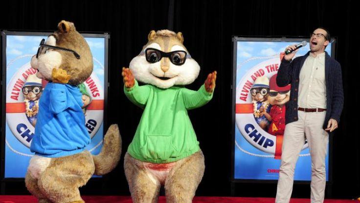 Quietschiges Vergnügen: «Alvin und die Chipmunks 3» (Foto)