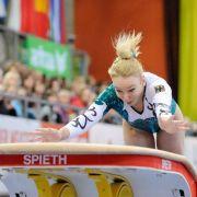 Deutsche Turnerinnen wecken Medaillen-Hoffnungen (Foto)